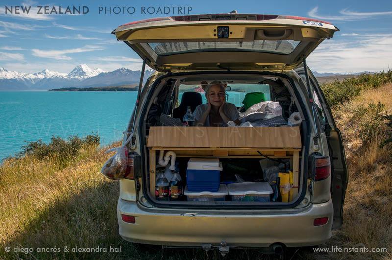 Photography Adventure Travel New Zealand Roadtrip Van
