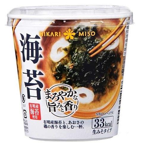 F14008  Hikari Miso 即沖杯裝味噌湯 ( 海苔 ) 19g