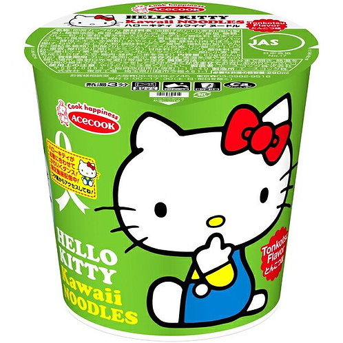 F14708  AceCook Hello Kitty 豚骨拉麵 58g