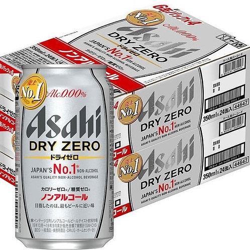 F14427  朝日 DRY ZERO 無酒精啤酒 350ml