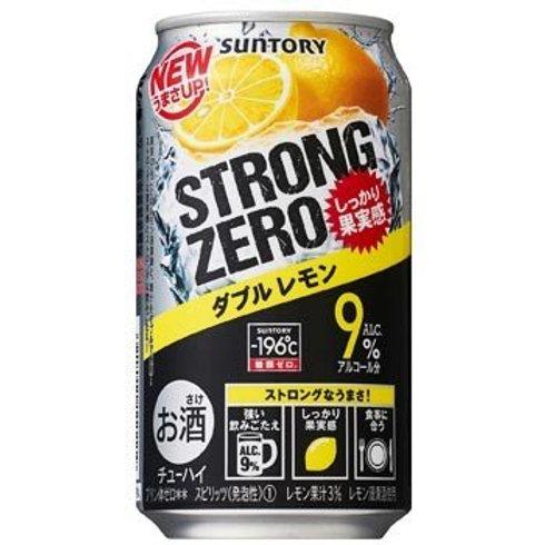 F13971 Suntory 新得利 STRONG 0糖類雙重檸檬味超 Hi (酒精度 9%) 350ml