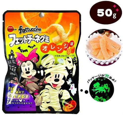 F14276 百邦萬聖節卡通香橙軟糖 50g