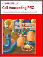 Comm One Call Accounting Pro Software Box