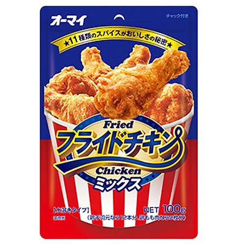 F14400 日本製粉-香辣炸雞粉 100g