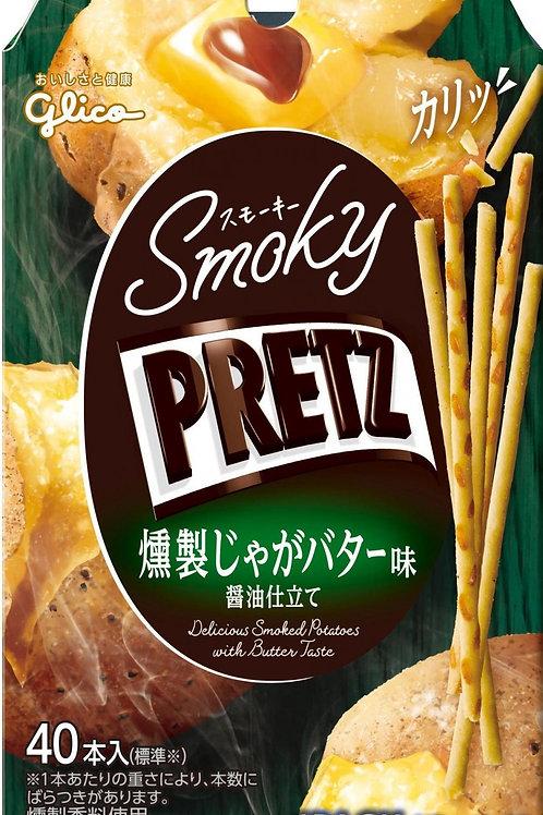 F14636 固力果燻製牛油焗薯仔味百力滋 40's