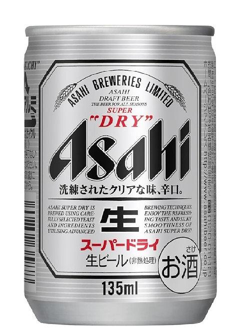 F14599  朝日 Super Dry 迷你罐裝生啤 135ml