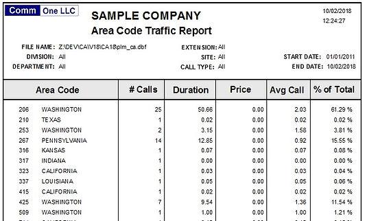 area code traffic report sample.jpg