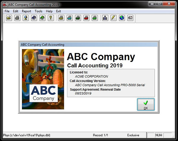 branded comm one call accounting softwar