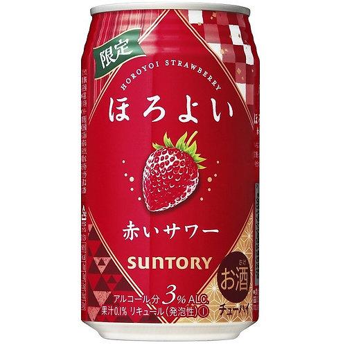 F14716  Suntory 期間限定草莓超 Hi (酒精度 3%) 350ml