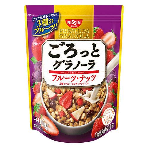 F14759  日清 4 種水果果仁穀物早餐 400g
