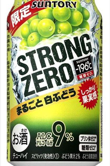 F14866  Suntory Strong Zero 白葡萄超 Hi (酒精度 9%) 350ml