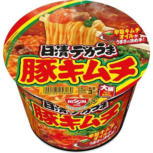 F14392 日清大盛泡菜豚肉碎拉麵 101g