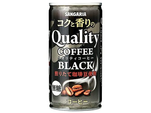 F14678 新加利亞特選無糖黑咖啡 185g