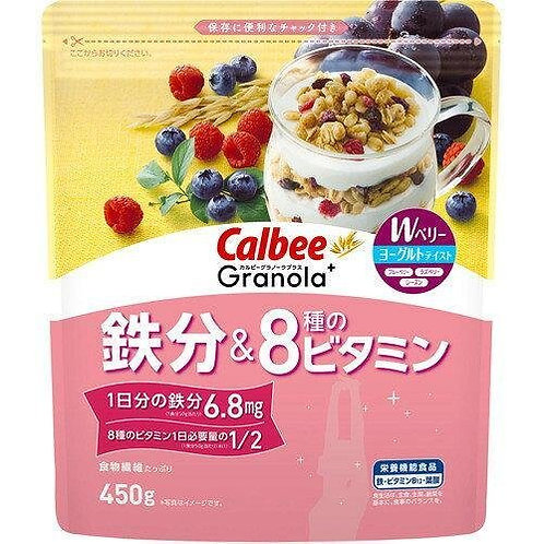 F14595 卡樂B 鐵分 + 8 種維他命穀物早餐 450g