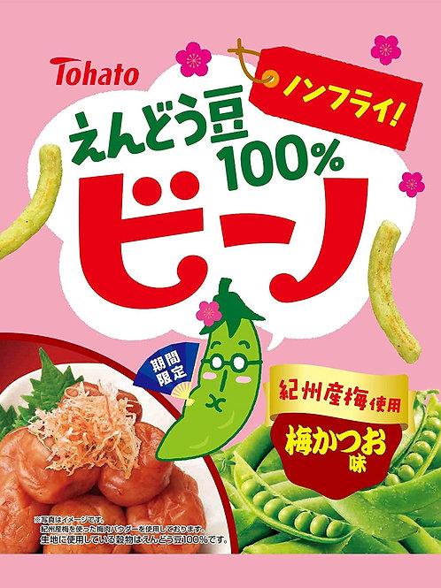 F14654 東鳩紀州梅鰹魚乾味青豆酥 62g