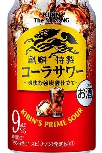 F14892  麒麟特製可樂筲啞雞尾酒 (酒精度 9%) 350ml