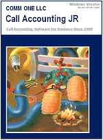 Comm One Call Accounting JR Software Box