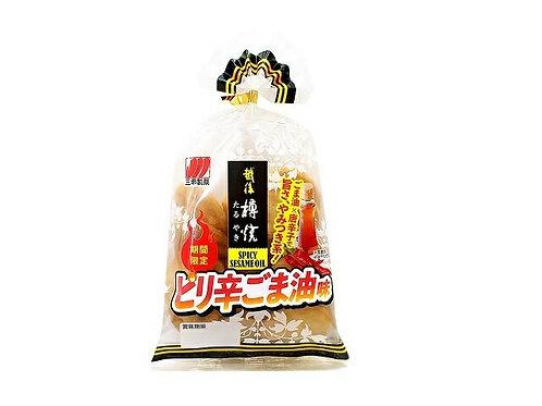 F14772   三幸期間限定辣麻油味米餅 90g