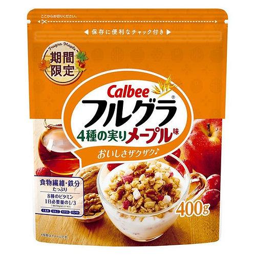 F14596 卡樂B 4 種果實楓糖味穀物早餐 400g