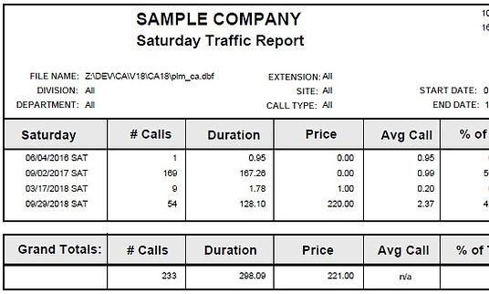 saturday traffic report sample.jpg