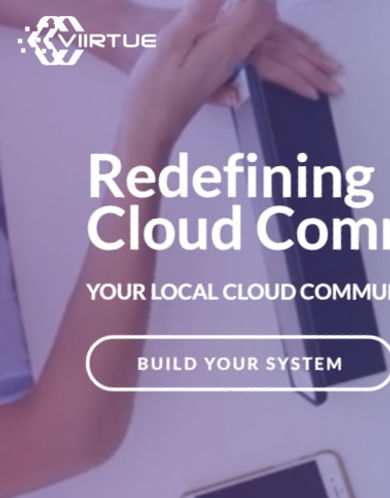 Link to Viirtue cloud communications website