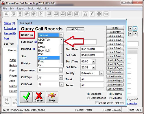 faq-1016 comm one file export capabiliti