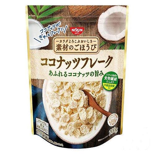 F14378 日清早餐椰子粟米片 200g