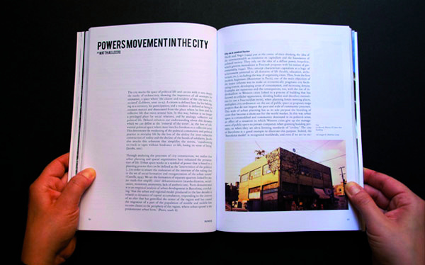 Power movement in the city #studiomagazine