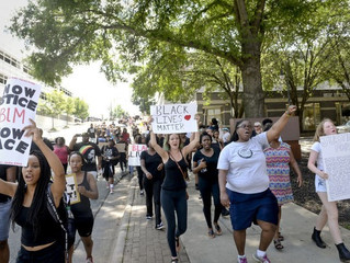 """""""Black Lives Matter"""" March and Rally in Winston Salem"""