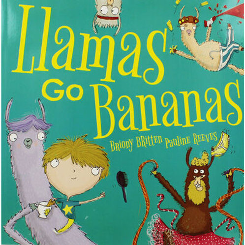 Book - Llamas go Bananas