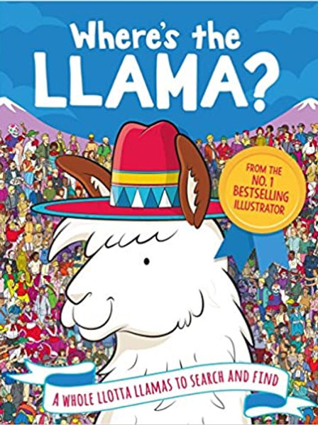 Book - Where's the Llama ?