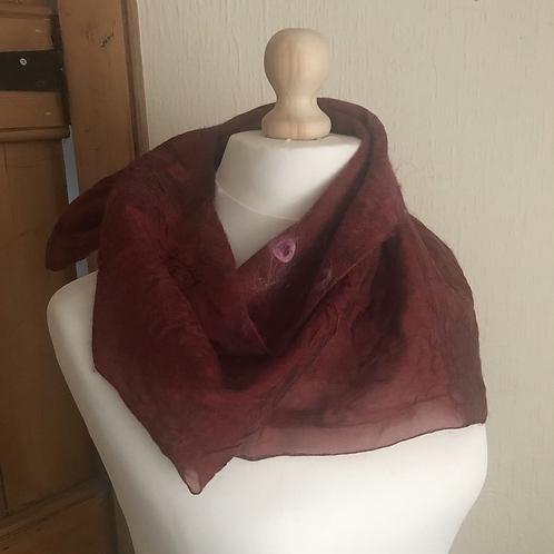 French Scarf - Berry