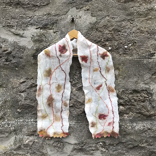 Sycamore Leaves Scarf