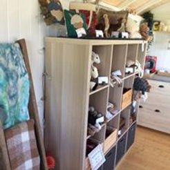 Interior view of Alpaca Farm Shop