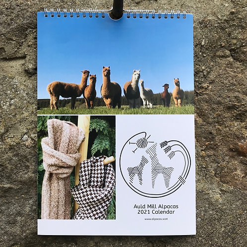 Auld Mill Alpacas 2021 Calendar