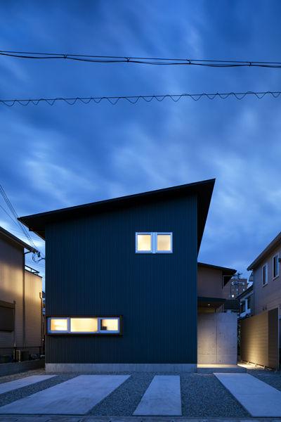 外観,シンプル,モダン,家,住宅,注文住宅,デザイン,ミニマル,家,建築家,設計事務所