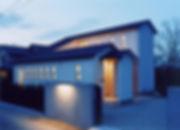 外観,夜景,中庭,シンプル,モダン,家,住宅,注文住宅,デザイン,ミニマル,家,建築家,設計事務所,兵庫県,加東市