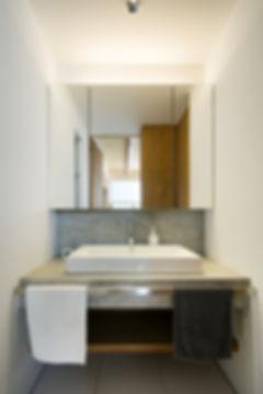 洗面,洗面台,シンプル,モダン,家,住宅,注文住宅,デザイン,ミニマル,家,建築家,設計事務所