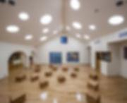 保育園,ランチルーム,遊戯室,切妻,シンプル,モダン,事務所,デザイン,ミニマル,家,建築家,設計事務所,兵庫県,神戸市