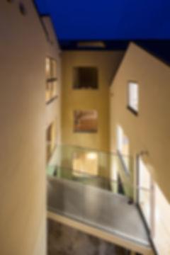 保育園,中庭,切妻,シンプル,モダン,事務所,デザイン,ミニマル,家,建築家,設計事務所,兵庫県,神戸市