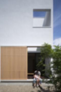縁側,中庭,シンプル,モダン,箱型,キューブ,家,住宅,注文住宅,デザイン,ミニマル,家,建築家,設計事務所