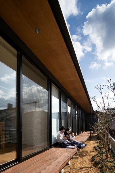 丸亀,平屋,縁側,建築家,シンプル,residence,design,simle