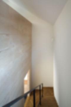 階段,スケルトン階段,ラワン合板,ヘリンボーン,シンプル,モダン,家,住宅,注文住宅,デザイン,ミニマル,家,建築家,設計事務所