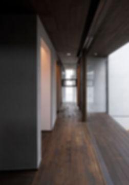 廊下,中庭,シンプル,モダン,家,住宅,注文住宅,デザイン,ミニマル,家,建築家,設計事務所,兵庫県,たつの市
