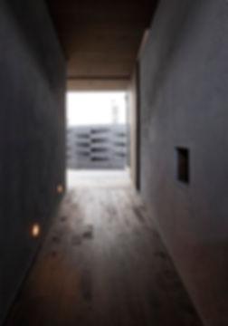 廊下,箱,中庭,シンプル,モダン,家,住宅,注文住宅,デザイン,ミニマル,家,建築家,設計事務所,兵庫県,たつの市