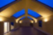 保育園,屋上,園庭,切妻,シンプル,モダン,事務所,デザイン,ミニマル,家,建築家,設計事務所,兵庫県,神戸市