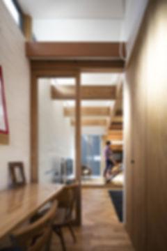 ファミリースペース,書斎,シンプル,モダン,家,住宅,注文住宅,デザイン,ミニマル,家,建築家,設計事務所