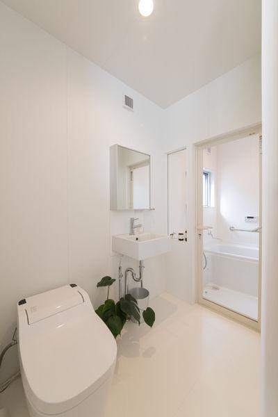浴室,シンプル,モダン,家,住宅,注文住宅,デザイン,ミニマル,家,建築家,設計事務所