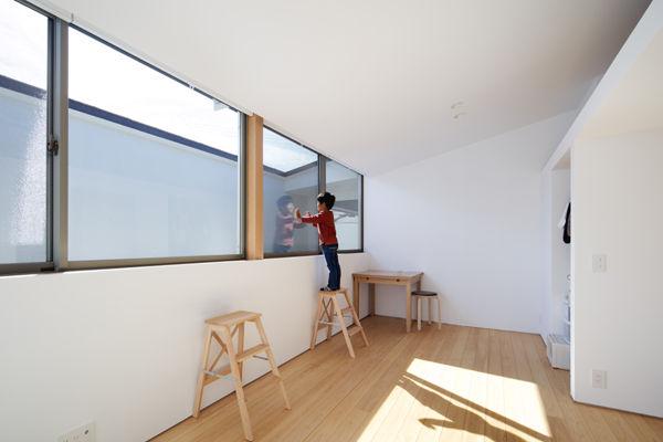 子供部屋,シンプル,モダン,家,住宅,注文住宅,デザイン,ミニマル,家,建築家,設計事務所