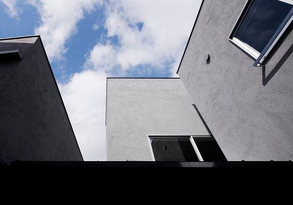 外観,箱,中庭,シンプル,モダン,家,住宅,注文住宅,デザイン,ミニマル,家,建築家,設計事務所,兵庫県,たつの市